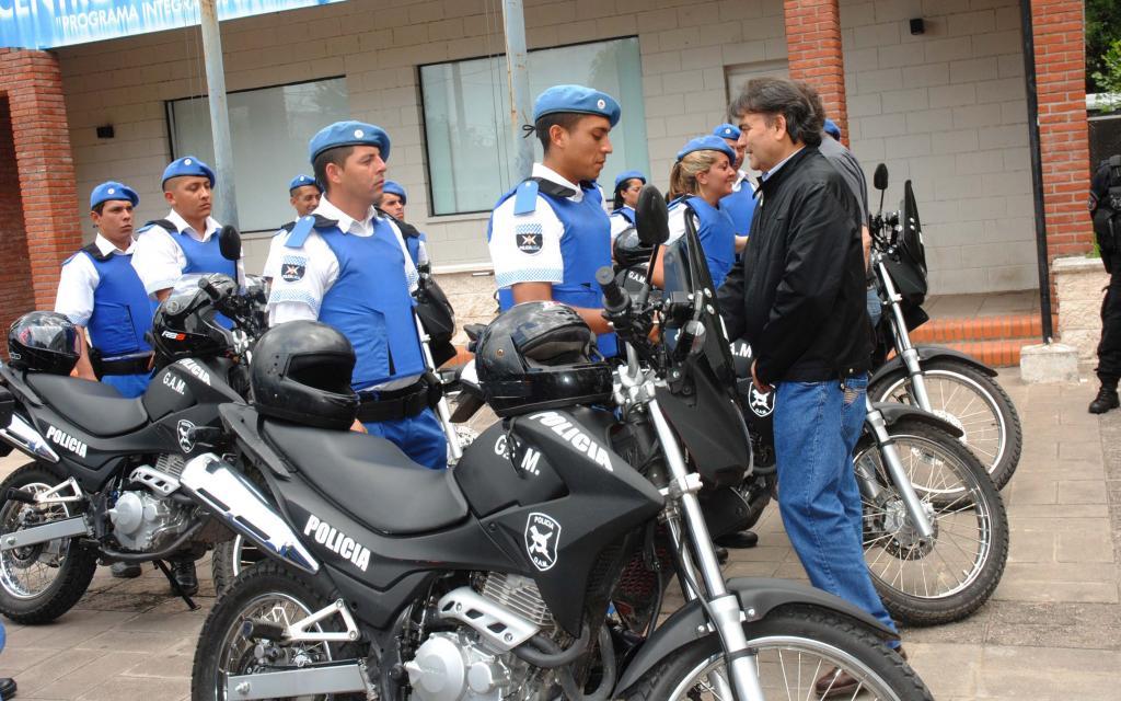 Diez Nuevas Motos Para El Grupo De Apoyo Motorizado De La
